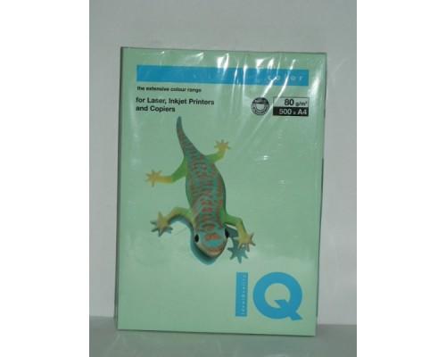 Бумага офисная IQ Color 80г MG28 А4 500л зеленый Mondi