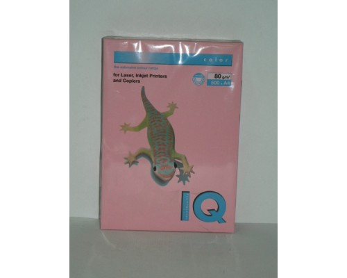 Бумага офисная IQ Color 80г PI25 А4 500л розовый Mondi