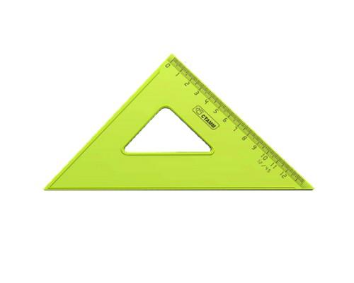 Треугольник Стамм 45*12см цв. прозрач.