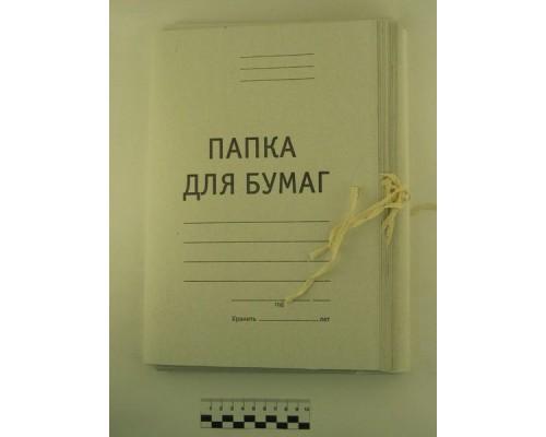 Папка для бумаг с завязками 310г/м Staff на 200л ПБ-400 121120