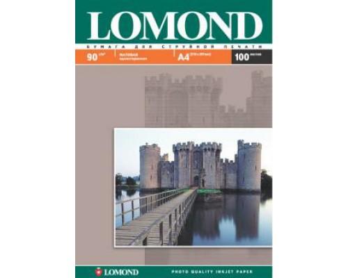 Фотобумага Lomond IJ A4 матовая 90г/м2 100л