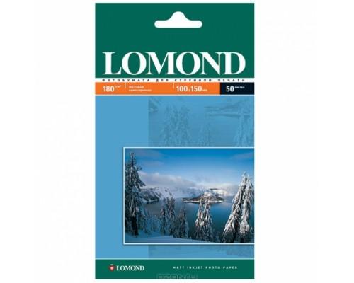 Фотобумага Lomond IJ A4 матовая 180г/м2 50л