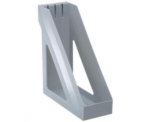 Лоток вертикальный Стамм Базис серый 100мм ЛТ31