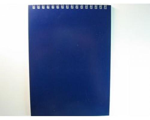 Блокнот БД А6 60л Для конференций спираль синий 1589