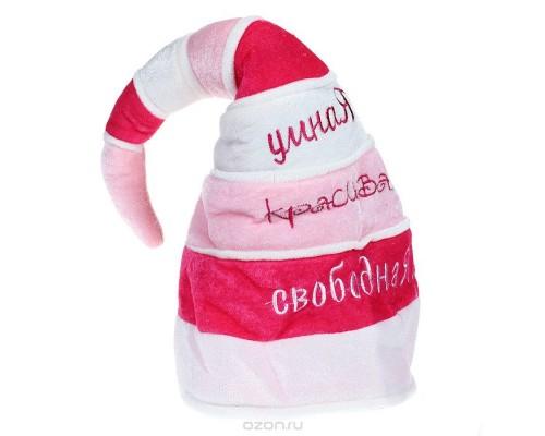 Шляпа карнавальная Клоун полиэстер 24860 Феникс