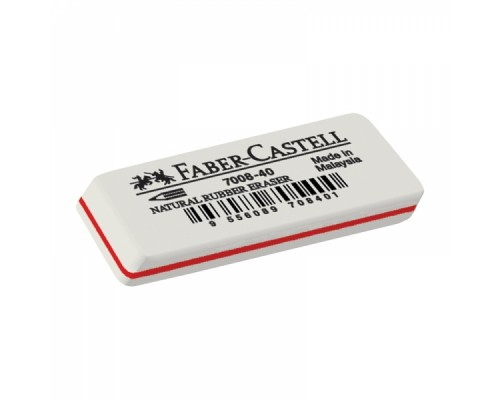 Ластик Faber Castell 7008 каучук 50*19*8мм