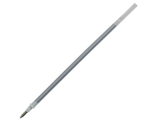 Стержень гел Crown металлик серебро 138мм 0,7мм HJR200GSM