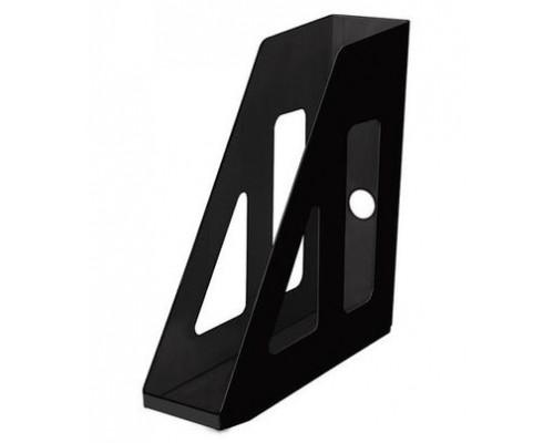 Лоток вертикальный Стамм Актив 70мм черный ЛТ511