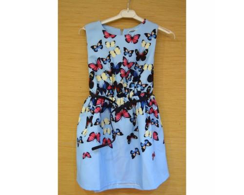 Платье голубое 2151223-10
