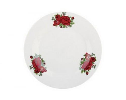 Тарелка плоская 18см Коралл Красная магия XL002/тп18
