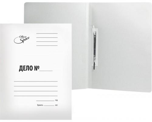 Скоросшиватель карт 320 г/м2 белый немелов A-SD32_344
