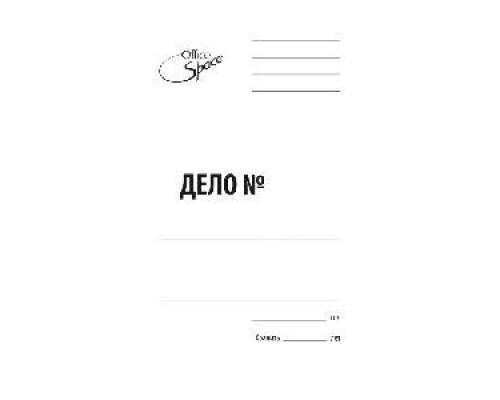 Скоросшиватель карт 440-450 г/м2 белый мелованный A-SD44M_347