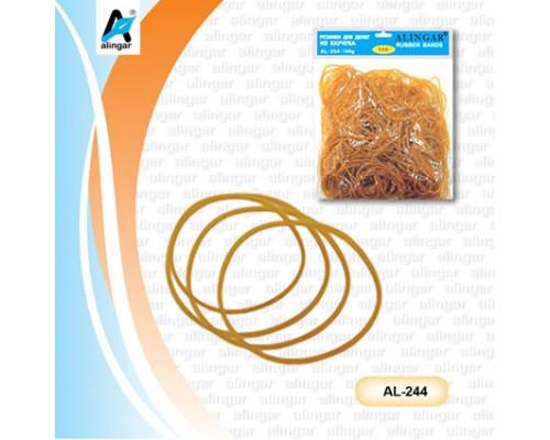 Резинка для денег Alingar каучуковые 100гр AL254-100G