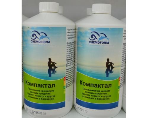 Химия д/бассейна Компактал (моющее на основе кислоты) 1литр