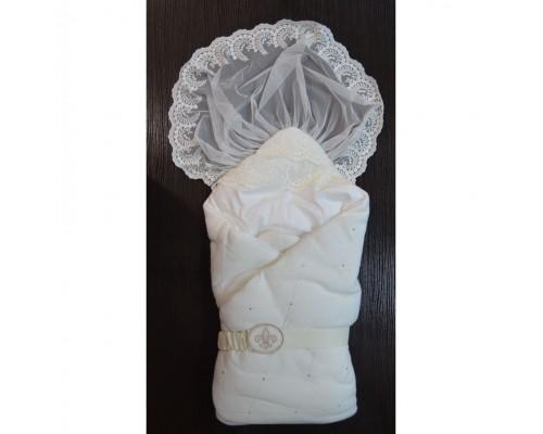Конверт для новорожденного Ромбики Лаппетти (4 бежевый)