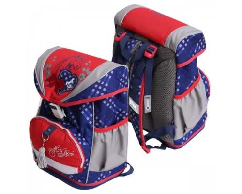 Рюкзак ЕК Ergo Fly Mon Ami 37*28*19см брусничный ЕК37455