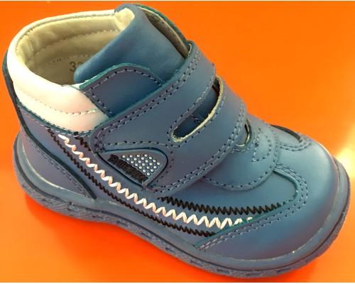Ботинки д/мал Бамбини голубые (19)