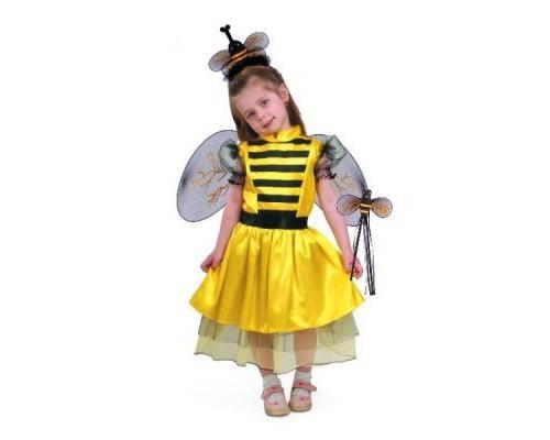 Костюм Пчелка (платье,крылышки,ободок,волш.палочка) р.28 Батик 8024