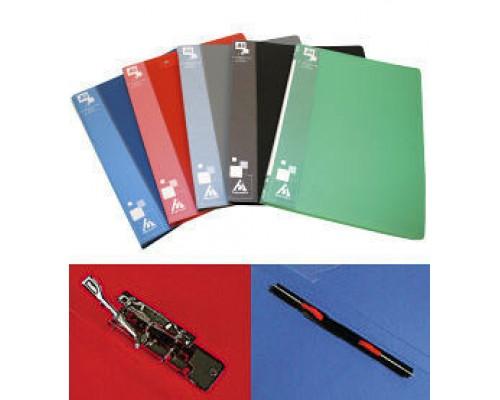 Папка-скоросшиватель Бюрократ А4 зеленая ,пластик 0,7мм PZ07Pgreen