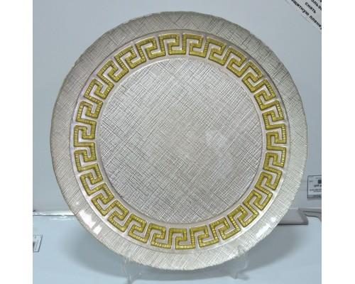 Блюдо Apollo Версаче 33см золото о33