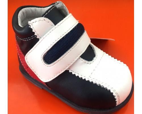 Ботинки 4706QP (19) синий/белый