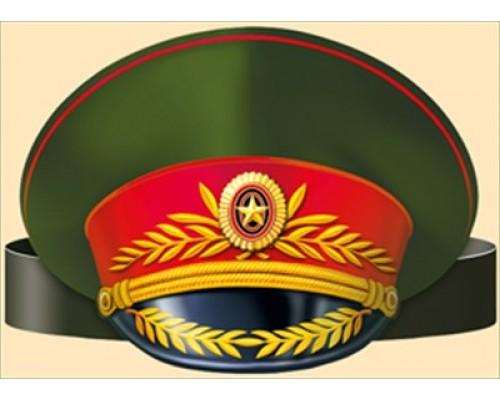 Украшение Ободок Фуражка (генерал) ИмП 450