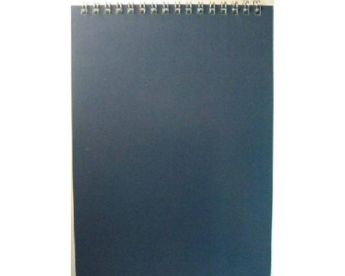 Блокнот БД А5 60л Для конференций спираль серый