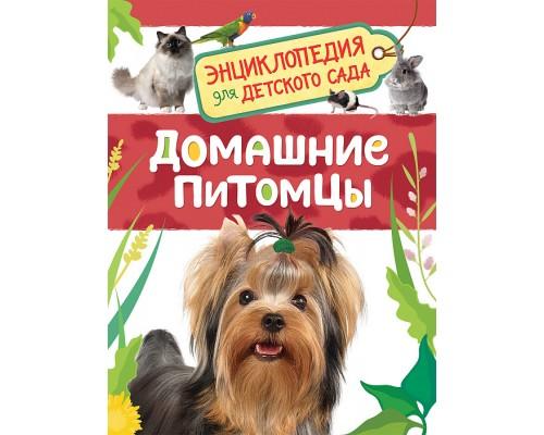 Домашние питомцы Энциклопедия для детского сада Росмэн