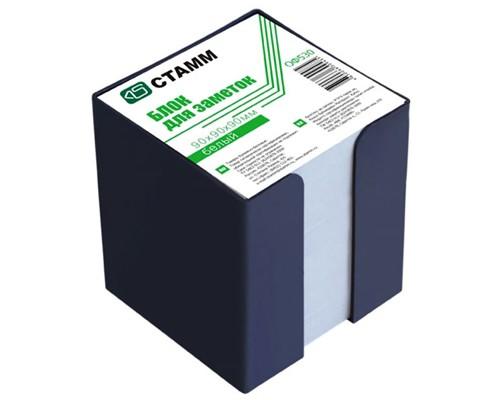 Блок бумаги Стамм 9*9*9см белый в боксе Эконом ОФ530
