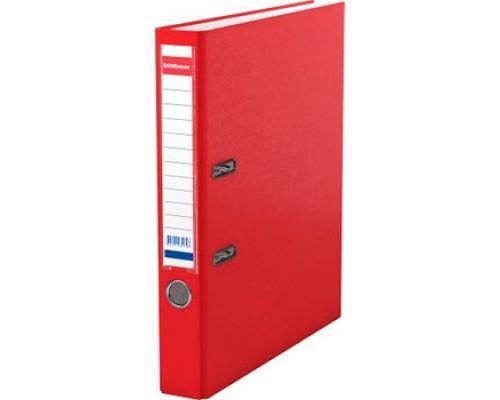 Папка-регистратор 50мм ЕК Granite красная собр (А4 картон/ПВХ, карман)
