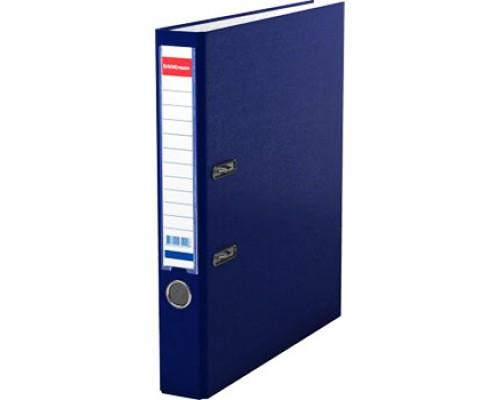 Папка-регистратор 50мм ЕК Granite синяя собр (А4 картон/ПВХ, карман)