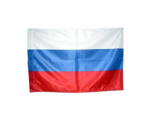 Флаг 1*1,5м мокрый шелк Россия