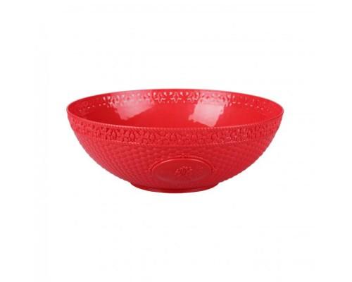 Салатник Мозаика 5л красный М5913