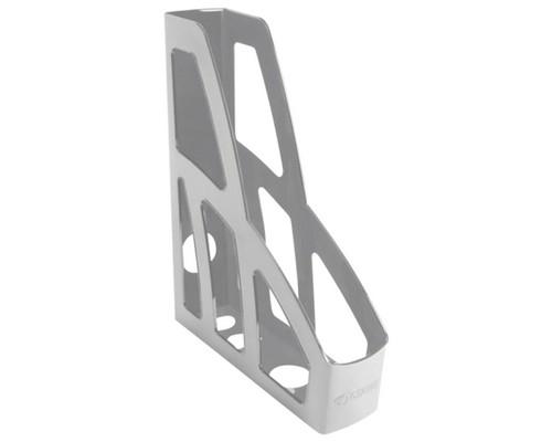 Лоток вертикальный Стамм Лидер 75мм серый ЛТ121
