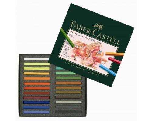 Пастель Faber Castell Polychromos 24цв кар/уп 128524