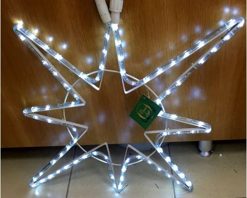 Гирлянда В Полярная звезда Дюралайт 72см белый flash-w соед.IP65 340