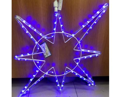 Гирлянда В Полярная звезда Дюралайт 72см синий flash-w соед. IP65 341