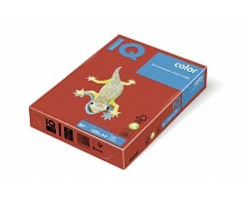 Бумага офисная IQ Color 160г CO44 А4 250л коралл-красный Mondi