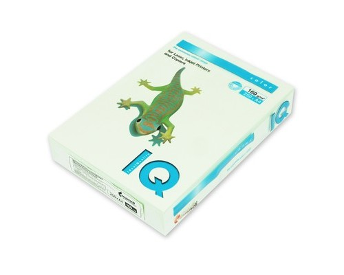 Бумага офисная IQ Color 160г GN27 А4 250л св-зеленый Mondi