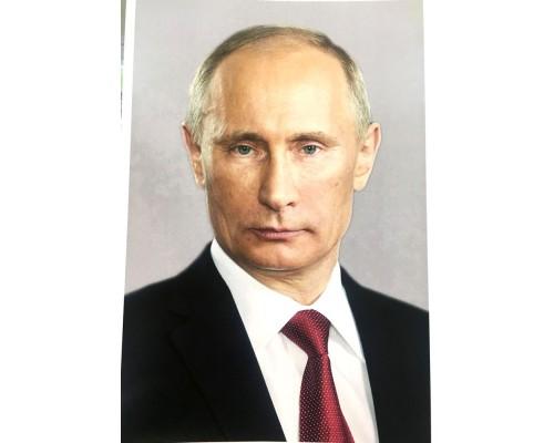 Портрет Президента В.В.Путина фото А4