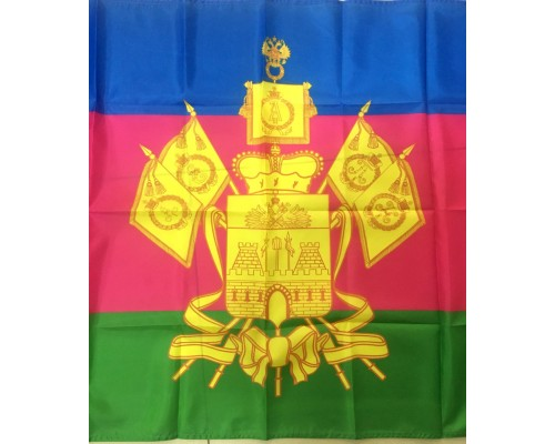 Флаг 90*135 п/эфир Кубань