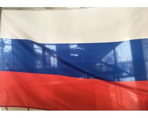 Флаг 90*135 фл/трик Россия