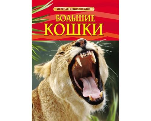Большие кошки Детская энциклопедия Росмэн