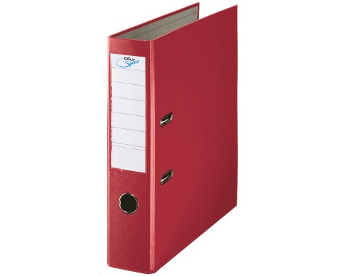 Папка-регистратор 70мм Спейс бордовый AFbv70-1-729/2521020