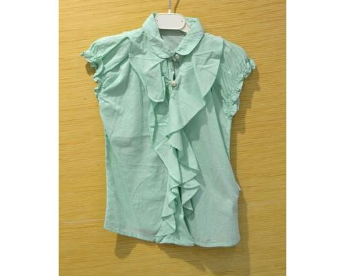 60291 Блузка для девочки (вар 2 98-104)