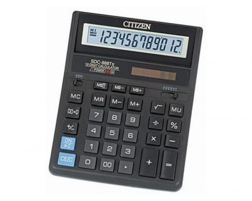 Калькулятор Citizen 12-разрядный SDC-888TII 205*159*27